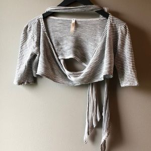 Free people movement cropped wrap